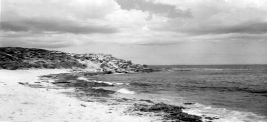 The northern side of Mudurup Rocks 1960
