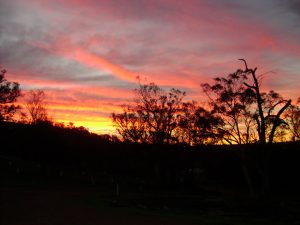 sunset Toodyay