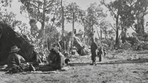 Lake Monger camp 1923 Battye Lib Collection