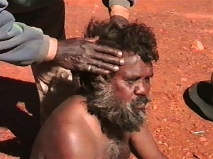 Aboriginal head massage