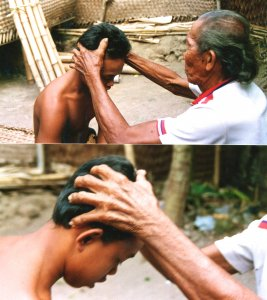 Lombok head massage 2